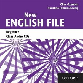 CD New English File Beginner Class Audio
